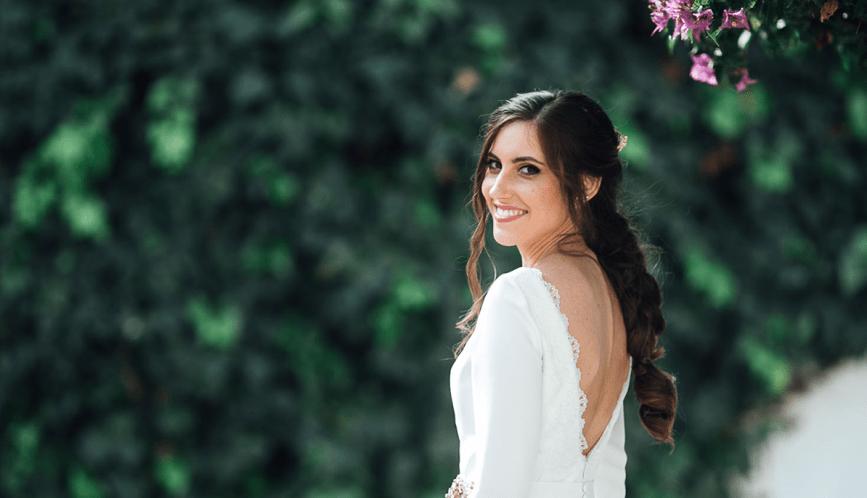 La elección de Vanesa para su boda