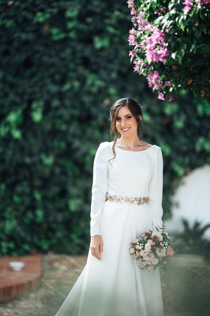 Vanesa L - Diseñadora Sara Ostos - Tidy Heels - Foto: Visual Bodas