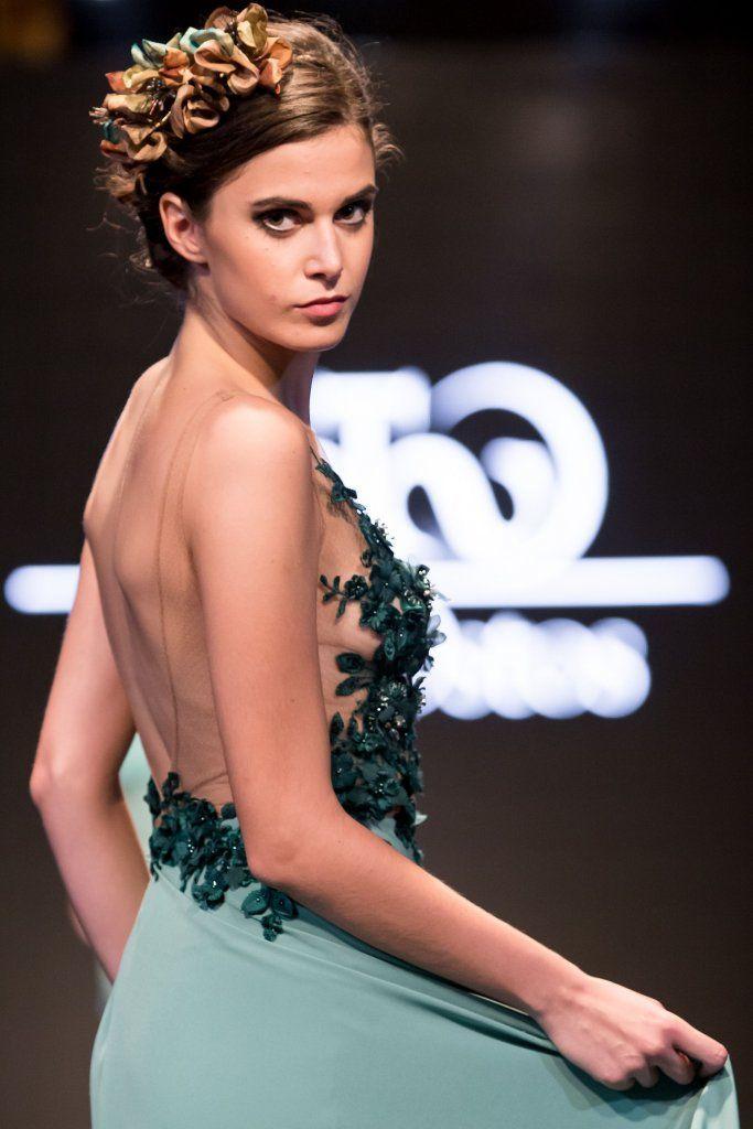 Vestido ideal para una invitada de boda | Diseñadora Sara Ostos | Fuente Palmera, Córdoba