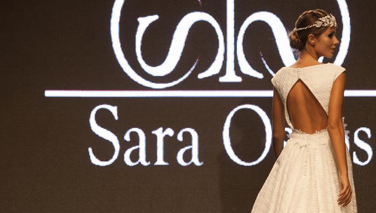 Vestido de novia romántico | Diseñadora Sara Ostos