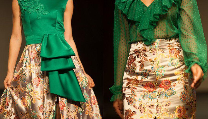 Verde para dar frescura a tu vestido