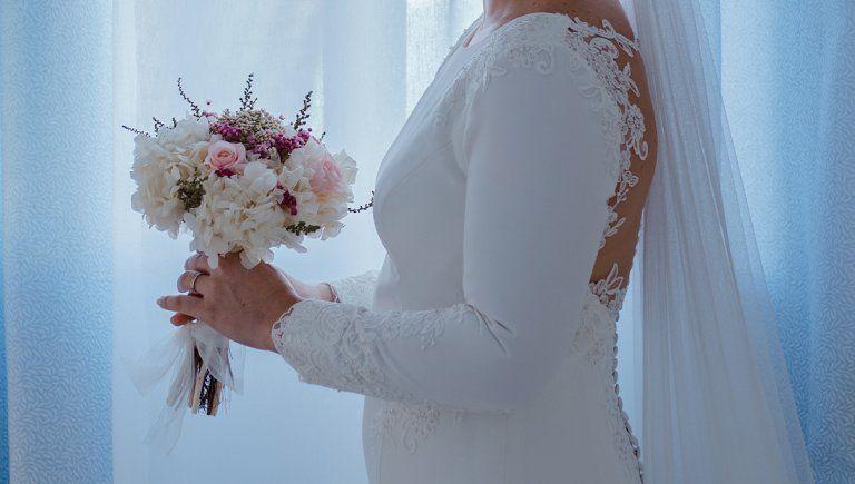 Vestido de novia de Purificación Escribano