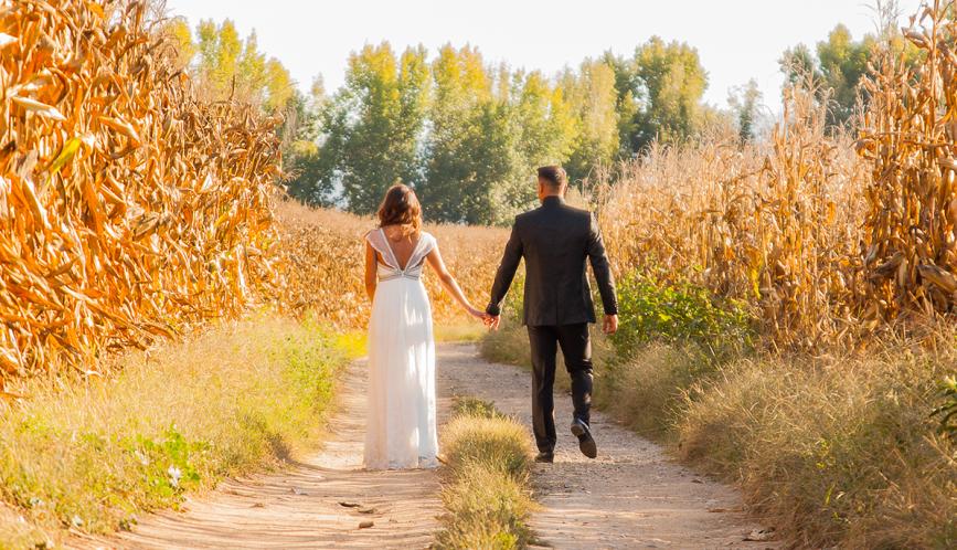 La elección de Alexandra para su boda
