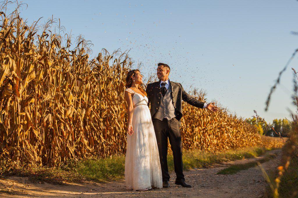 El vestido de novia de Alexandra para su boda - Confeti